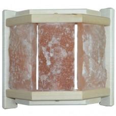 Абажур угловой с гималайской солью АГС-3