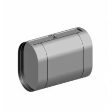 Бак из нержавейки под контур 60л - горизонтальный (овальный)