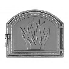 Дверца Везувий каминная 218 (не крашенная)