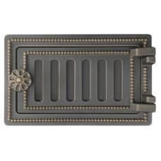 Дверца Везувий поддувальная ДП-2 (бронза)