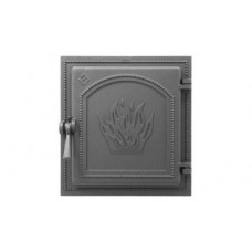 Дверца каминная Везувий 271 (антрацит)