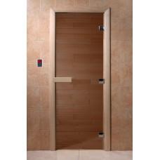 "DoorWood,""6"" мм, 700x1800 ""Теплый день"" (бронза, коробка хвоя)"