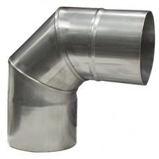 Колено 90 градусов ф. 100 мм. (430-1.0 мм.)