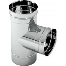 Тройник 90 градусов ф. 115 мм. (430-1.0 мм.)