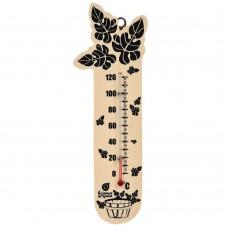 """Термометр для бани и сауны """"Банный веник"""""""