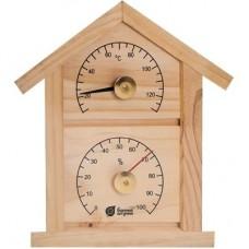 """Термометр с гигрометром """"Домик"""""""