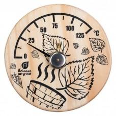"""Термометр для бани и сауны """"Листья"""""""