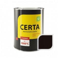 Краска т/с (банка 0,8 кг) Черная CERTA