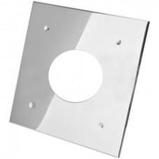 Экран защитный ф. 120 (430/0,5 мм) 500*500 с отверстием