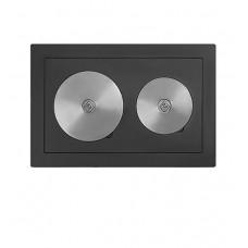 Плита двухконфорочная Везувий 5В (460х700)