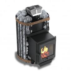 Услада 10С (печь-сетка) с каменкой из нержавеющей стали
