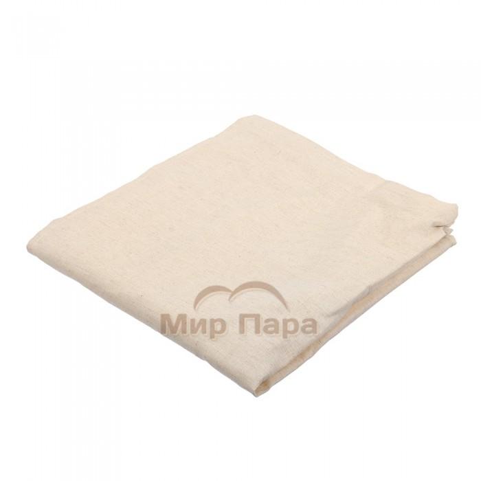 Накидка «Лён» для мужчин, для бани и сауны, 140х60см